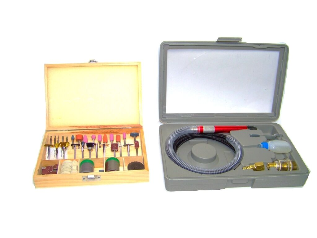 TAIA020, A020 taztool air micro die grinder with 100 accessories rotary tool cutting polisher kit