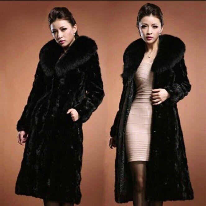 Lo  último invierno cálido de lujo para mujer de piel de visón largo abrigo chaqueta prendas de abrigo Parka  Hay más marcas de productos de alta calidad.