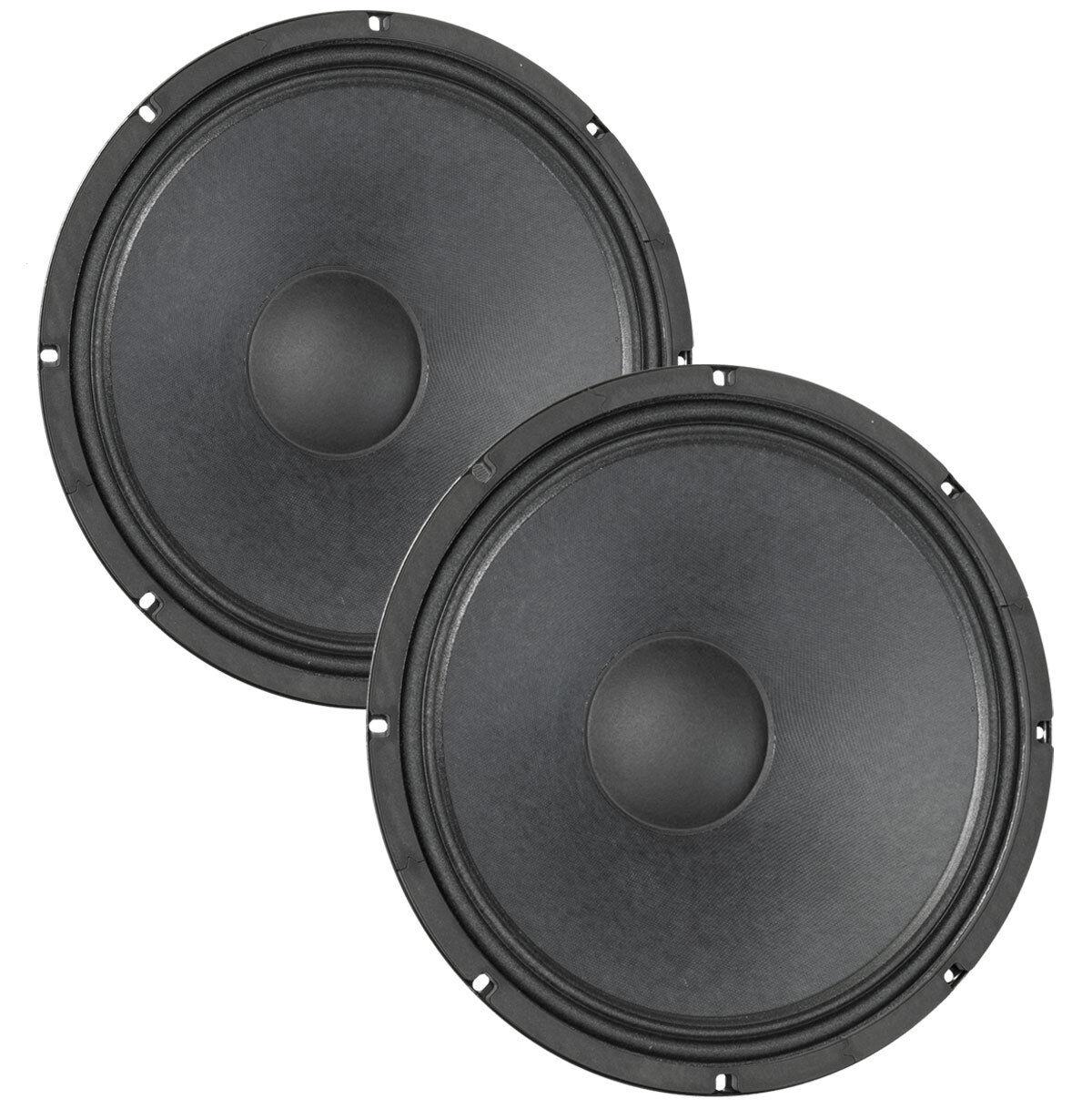 Pair Eminence Legend CA154 15  Bass Guitar Speaker 4ohm 97dB 2.5 VC Replacement