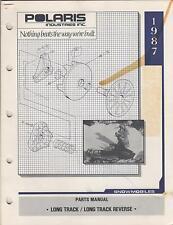 1987 POLARIS SNOWMOBILE LONG TRACK/REVERSE  P/N 9911271 PARTS MANUAL (738)