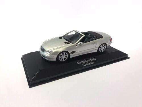 1:43 B66961924 Minichamps Mercedes-Benz SL-Klasse R230 silber