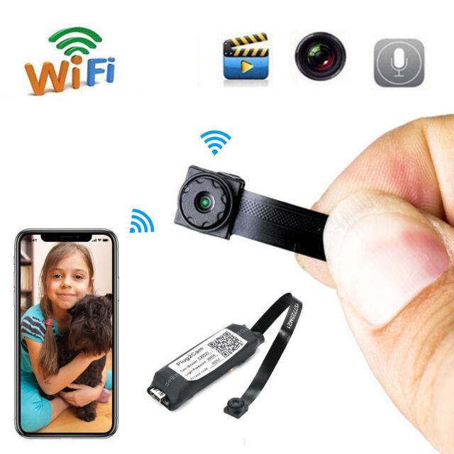 Home WiFi IP Pinhole DIY Module Cam Mini Wireles Video Hidden SPY Camera DVR DV