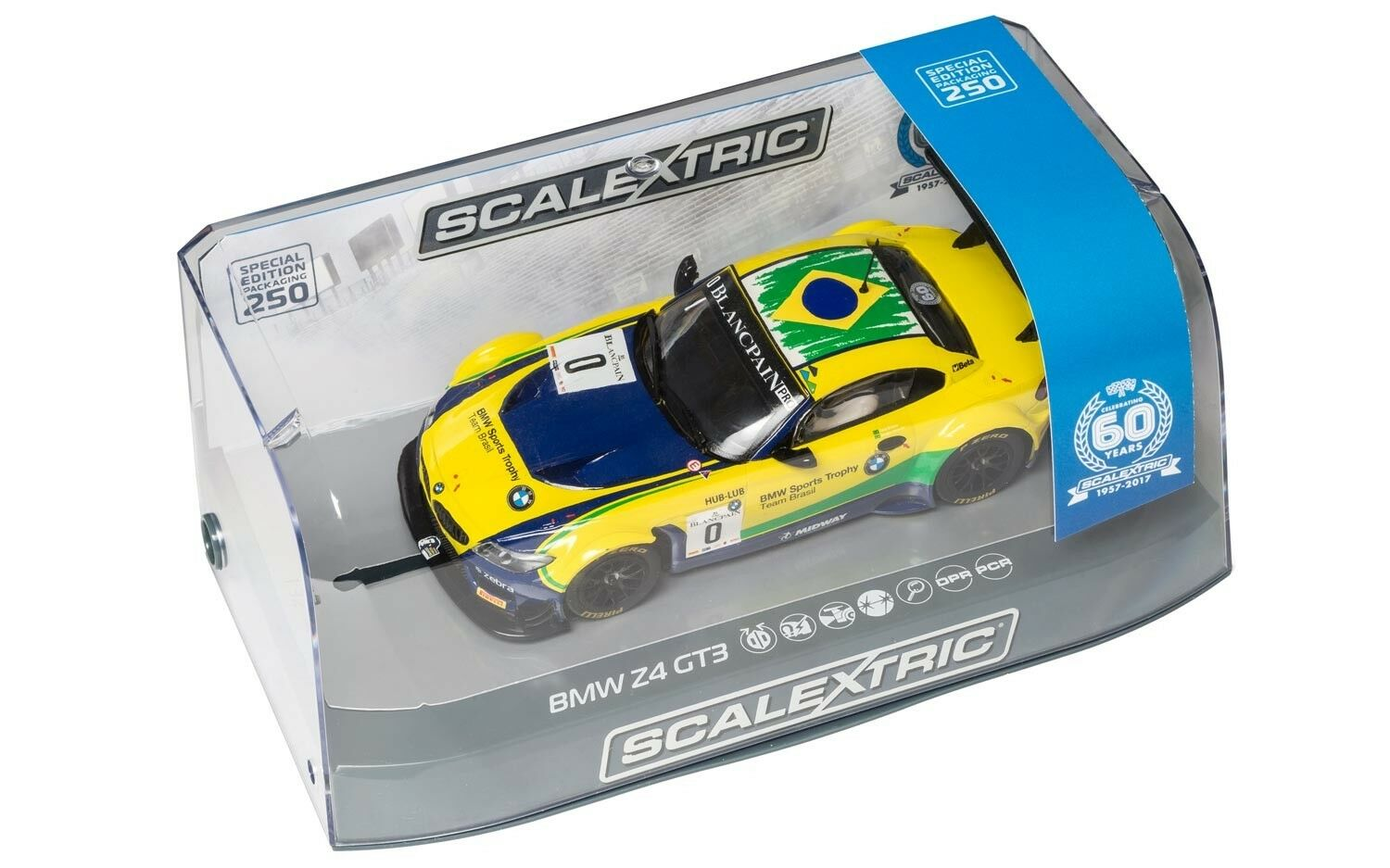 SCALEXTRIC C3721A BMW Z4 GT3 - BRANDS HATCH 2015 60TH ANNIVERSARY EDITION NEW