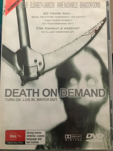 Death On Demand - DVD - Turn On. Log In. Watch Out - Free Post!