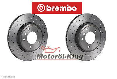 Brembo2 Bremsscheiben Voll 240 mm für Alfa Romeo Bremsbeläge Hinten u.a