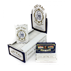 Zig-Zag White Zig Zag Single Wide 1.0 Rolling Papers Tobacco 10 PACKS