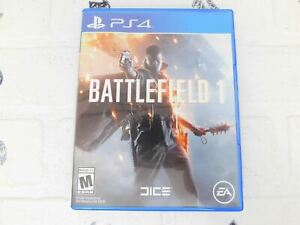 Battlefield 1 (PS4, Cleaned, Complete)