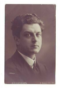 Rusia-M-N-Karakash-Opera-Singer-Director-Vocal-Maestro-Vintage-Foto-Pzas-578