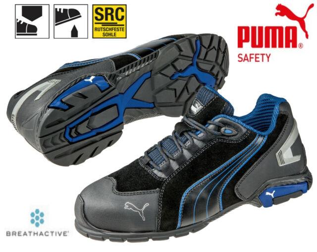 huge selection of 26383 d0dd0 Puma Sicherheitsschuhe RIO BLACK Low S3 SRC Arbeitsschuhe Lagerschuhe  64.275.0