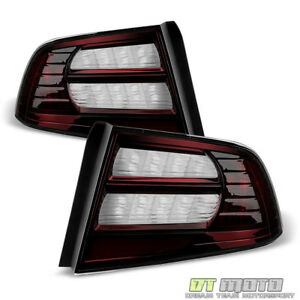 Image Is Loading Blk Tinted 04 08 Acura Tl Tail Lights