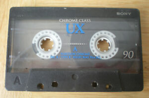 Audio-/video-leermedien Tv- & Heim-audio-zubehör Analytisch Sony Ux 90 Chrome Audio-kassette Leercassette Vintage Tape Tdk
