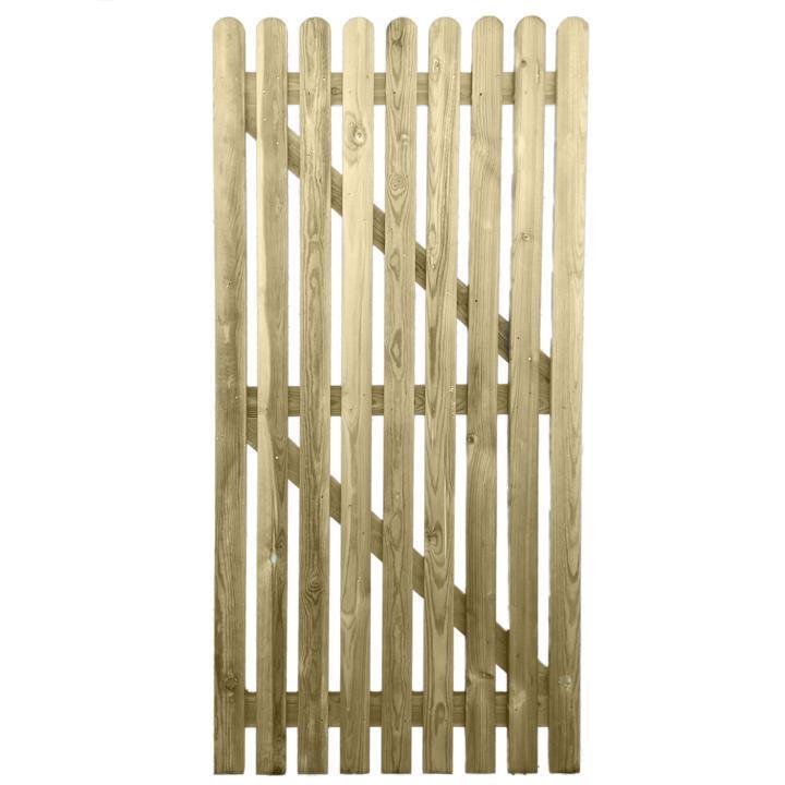 6ft x 0.9m M trattati in legno PICCHETTO GIARDINO LATERALE CANCELLO - Qualità