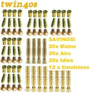 Weber-DCOE-40-Carb-Jet-Tuning-Kit-20-X-MAINS-20-X-AIRS-20-X-IDLES-12-X-EMULSION