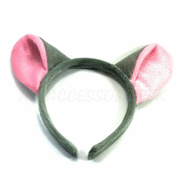 Teddy Bear Ears Brown Furry Aliceband Fancy Dress Hair Accessories World Book