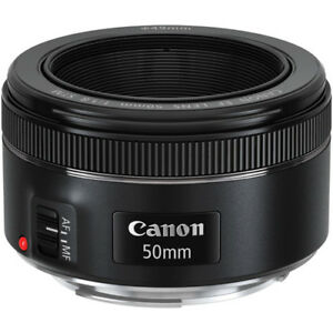 CanonEF 50mm f/1.8 STM Lens for Canon EF Cameras 0570C002