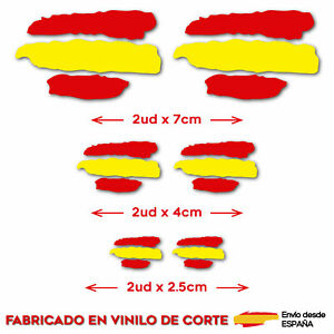 6-X-BANDERA-ESPANA-VINILO-ADHESIVO-PEGATINA-STICKER-COCHE-MOTO-CASCO-TUNING