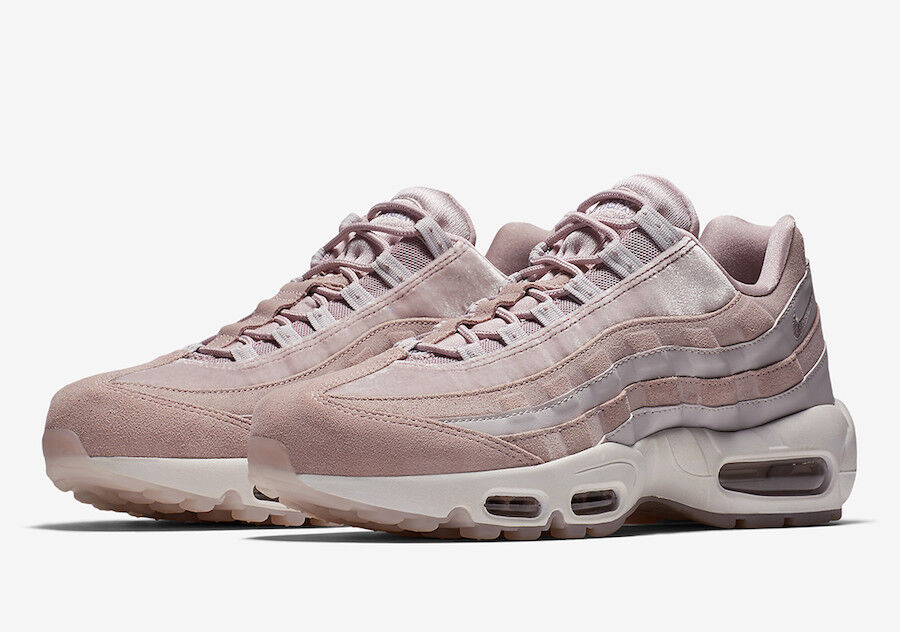 WMNS 2018 Nike Air Max 95 LX SZ 8 Particle pink AA1103-600
