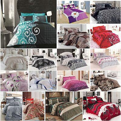 Bettwäsche RüCksichtsvoll Bettwäsche 200x220 Cm Bettgarnitur Bettbezug 100% Baumwolle Kissen 4 Tlg Var #3 Spezieller Sommer Sale Möbel & Wohnen