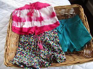 """100% Vrai Filles Pretty Coton Shorts (âge 9/12 Mois) Neuf Avec étiquettes. """"made In India"""".-afficher Le Titre D'origine Dernier Style"""