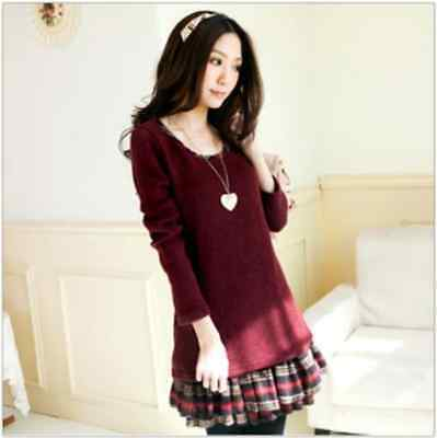 Autumn winter cute girl long sleeve fashion women's Clothing Mini Dresses FZ128