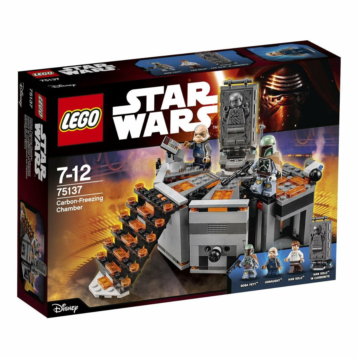 LEGO Star Wars TM 75137 Carbon-Freezing Chamber - NEW in BOX Han Solo, Boba Fett