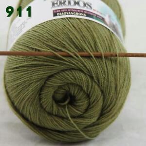 Sale-1-Skein-x50gr-LACE-Soft-Crochet-Acrylic-Wool-Cashmere-hand-knitting-Yarn-11