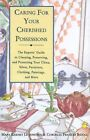 Caring for Your Cherished Possessio by M Levenstein (Paperback, 1994)