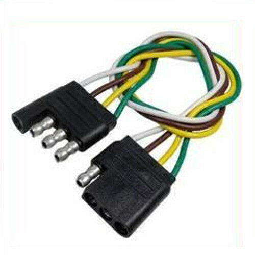 """Trailer Wire Wiring Harness 4 Way Pin Flat 60/"""" Inches 5 Feet"""