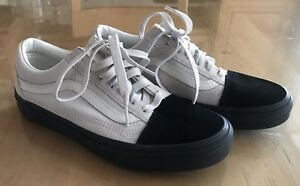 1aa940ad Details about Vans SHOES SNEAKERS Old Skool Native Suede White/Black Men's  6.0, Women's 7.5