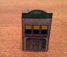 Antique 1914 Tin Toy Train Village Building Candy Container - Princess Theater