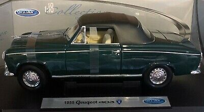 1955 GEUGEOT 403 1:18 Diecast Car Welly COLLECTION