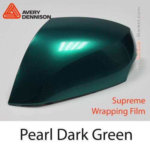 Pearl Dark Grün Avery Dennison Supreme Wrapping Folie Total Abdeckung