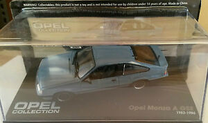 DIE-CAST-034-OPEL-MONZA-A-GSE-1983-1986-034-OPEL-COLLECTION-SCALA-1-43