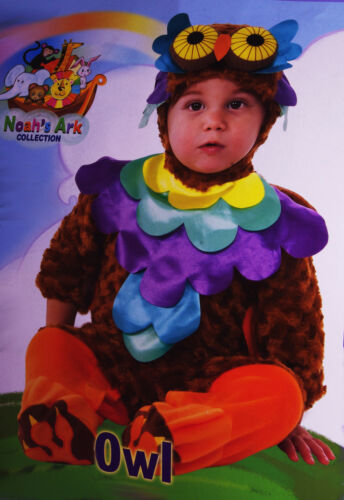 Baby Girls Colorful Owl Bird Halloween Costume Outfit Infant 0 6 12 Months NEW