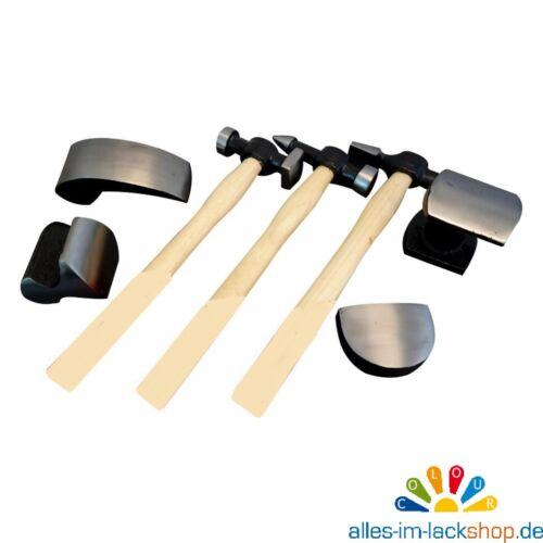 Ausbeulwerkzeug Ausbeul Hammer Set 7-tlg ausbeulen Blechbearbeitung  Werkzeuge
