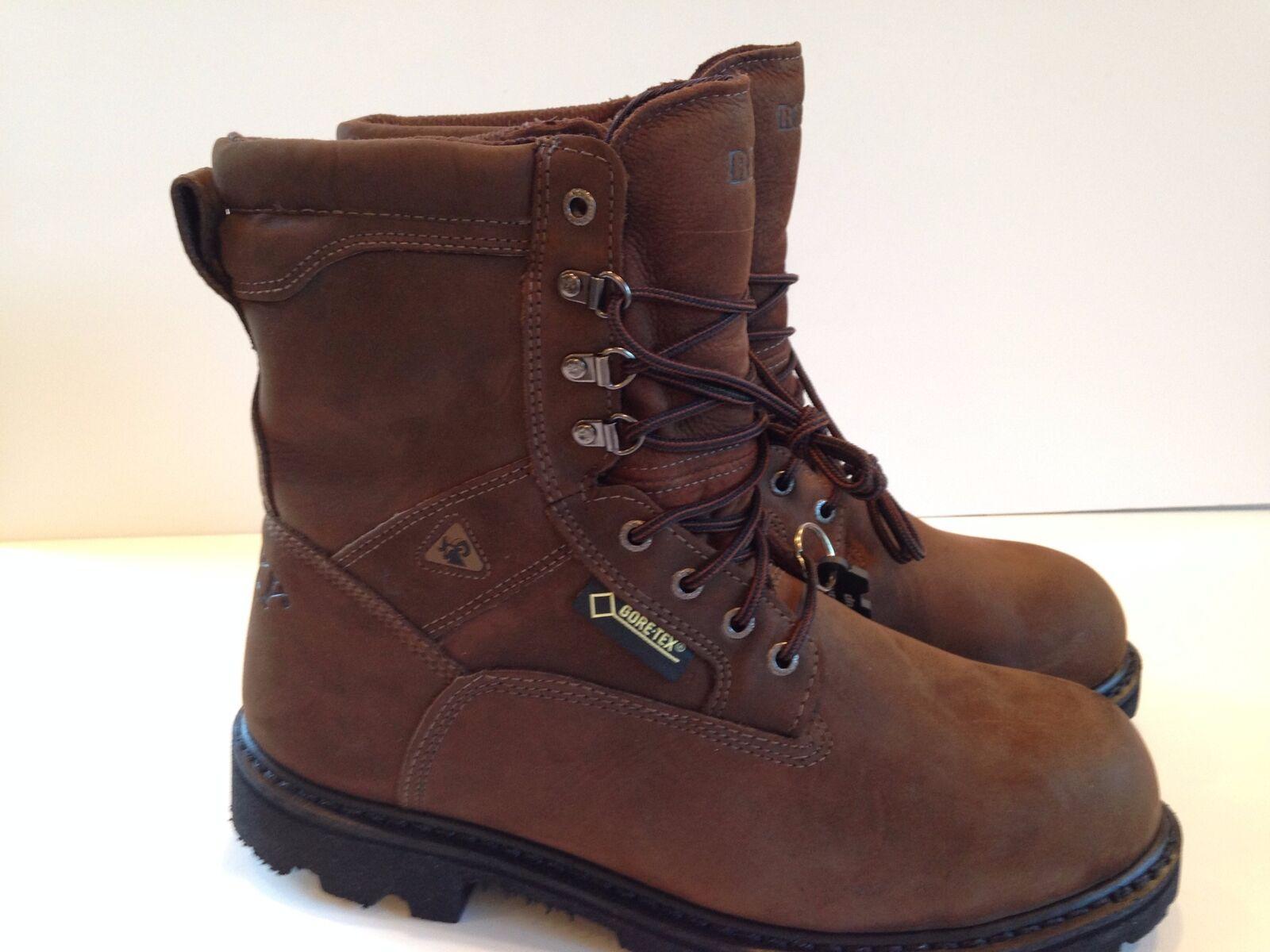 Rocky Para Hombre Ranger 6223 Cuero 600g Goretex acero dedo botas de trabajo (600)