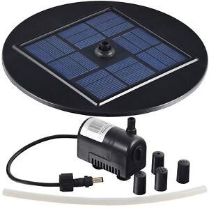 agora tec solar teichpumpe gartenteich springbrunnen springbrunnenpumpe pumpe ebay. Black Bedroom Furniture Sets. Home Design Ideas