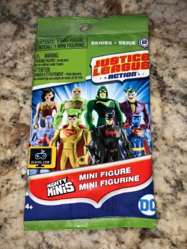GOLD SUPERMAN Blind Bag SEALED Mighty Minis Justice League Mini Figure