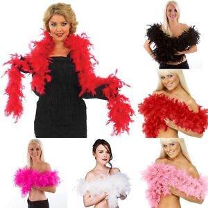 Thick 80g Feather Boa 2meter Long Perfect 4 FancyDress Hen Night Party Burlesque
