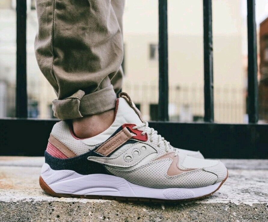Saucony Grid 9000 Liberty Pack Retro Running Shoes Light Tan S70312 1 Size 8 5 For Sale Online Ebay