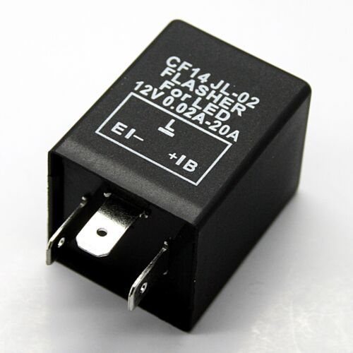 Relais CF13 GL-02 CF14 JL-02 LED Blinker Blinkerrelais Flasher 3 Polig 12 Volt