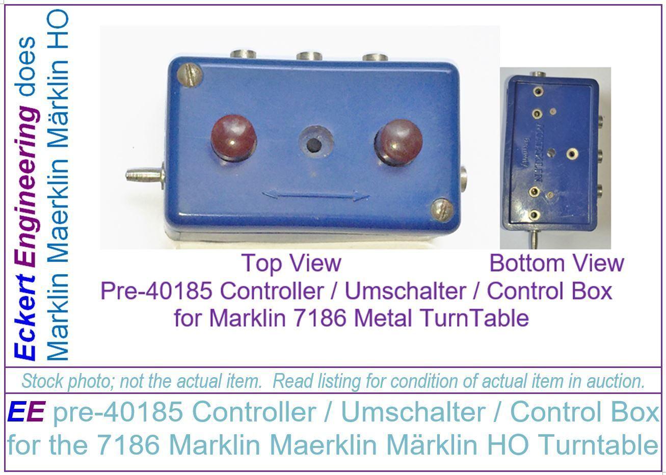 EE pre-40185 Controller   Umschalter   Control Box for the 7186 Marklin Maerklin
