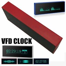Music Spectrum Display Sound Level Indicator Dot Matrix Audio Uv Meter Vfd Clock