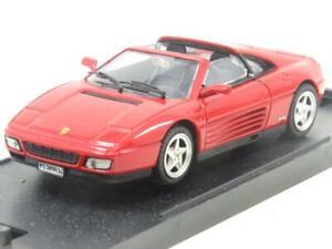 Bang-Modelos-Diecast-8001-Ferrari-348-TS-Stradale-rojo-1-43-ESCALA-en-Caja