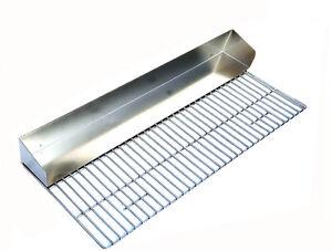 5 Mattone Wide 112cm barbecue in acciaio inox griglia grill per Barbecue in mattoni kit