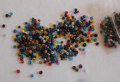 10 Grammi Minuscole Vetro Perle - 1,5 - 2 Mm, Kunterbunt-gioielli Realizzerà In 1:12-mostra Il Titolo Originale