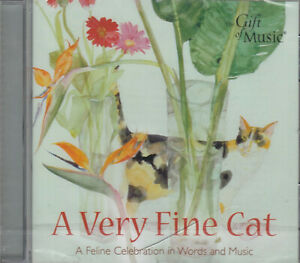 A-Very-Fine-Cat-Feline-Celebration-In-Word-Music-CD-Audio-NEW-Chopin-Chaucer