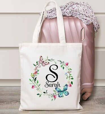 Alice Ladies Personalised Tote Bag Shopper  Any Name Gift Birthday Leaving Girls