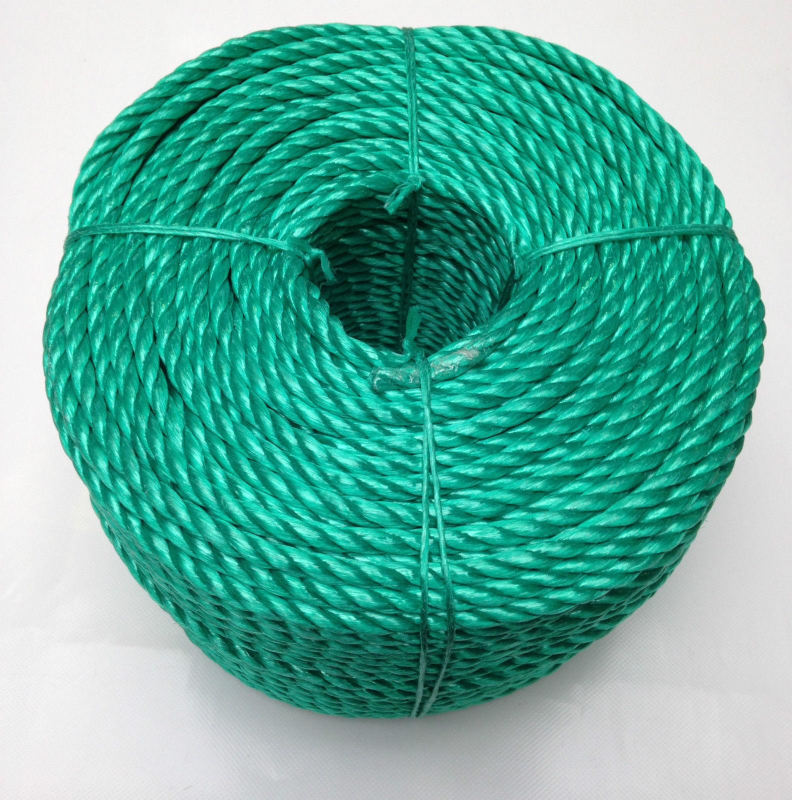 14mm x 220 MTS, grün Poly-Seil Rollen,Poly-Seil ,Polypropylen Seil,Camping