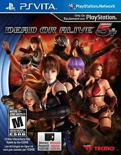 Dead Or Alive 5 Plus [Sony PlayStation Vita PSV, Arcade Fighting] NEW